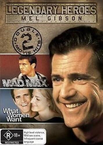 Mad Max / What Women Want DVD Like new (C)