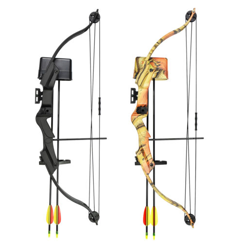 17-21 lb Black / Camouflage Camo Archery Hunting Compound Bow Crossbow 20 25Compound - 20838