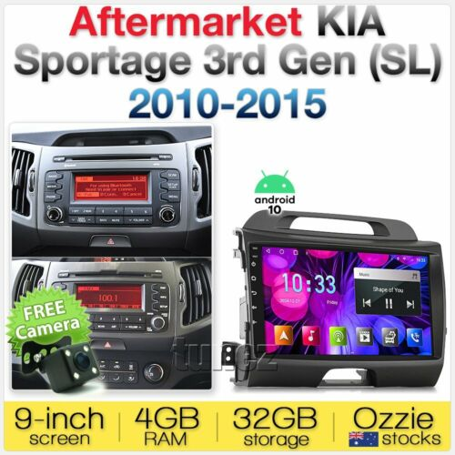 Android Car MP3 Player Kia Sportage 2010-2015 Head Unit Stereo Radio MP4 Fascia