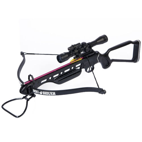 150 lb Autumn Camouflage Camo Metal Hunting Crossbow Bow +4x20 Scope +7 Bolt 180Crossbows - 33972