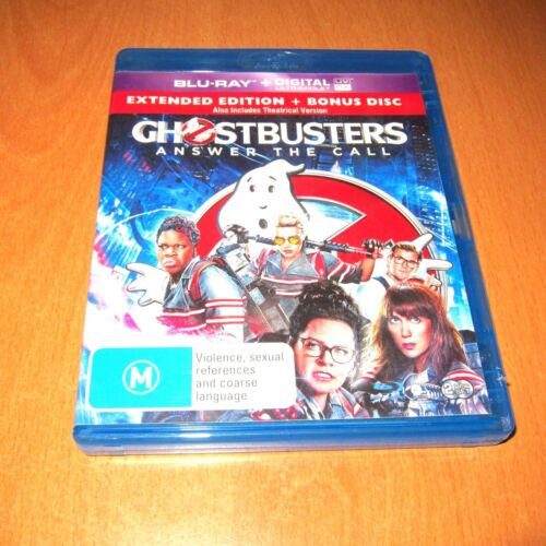 GHOSTBUSTERS : ANSWER THE CALL ( 2016 , BLU-RAY 2 DISC SET ) ~ LIKE NEW !