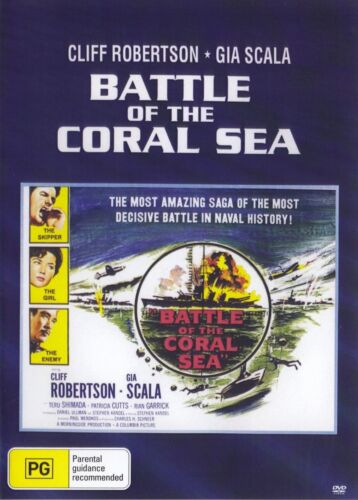 Battle of the Coral Sea - New Region All DVD