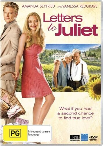 Letters To Juliet Dvd Like new (C)