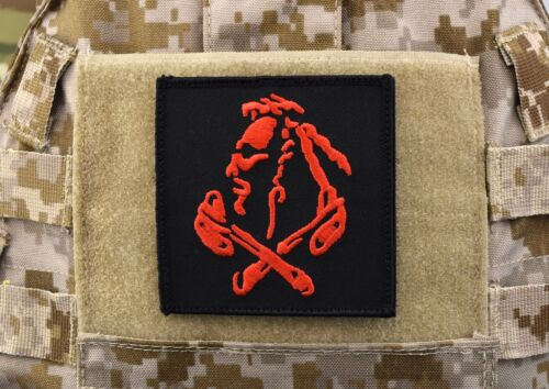 NSWDG Red Squadron Patch The Tribe DEVGRU ST6 Red Team - Black Hook BackingNavy - 66533