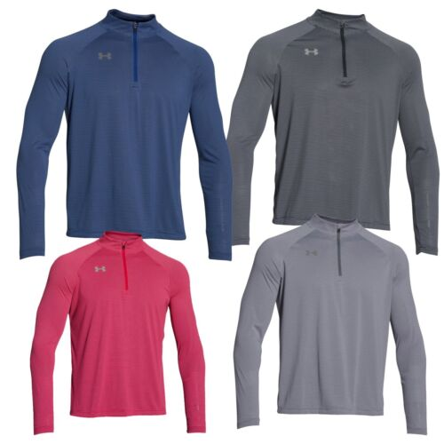 Under Armour Men's UA Team Stripe 1/4 Zip Pullover Shirt 1276228