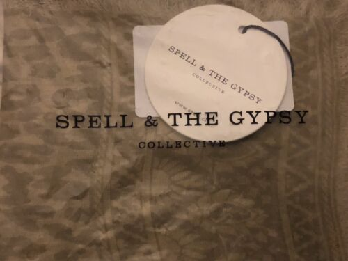 SPELL & THE GYPSY PETITE TRAVEL SCARF -WILD THING-SOLD OUT! RARE BEAUTIFUL SCARF