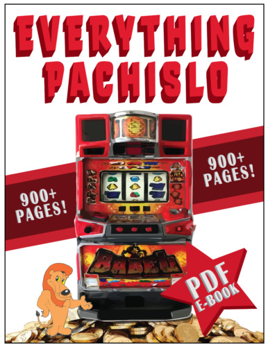 442 Pages EVERYTHING PACHISLO The only Pachislo Manual you will need PDF format