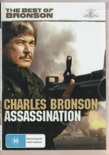 Assassination - Charles Bronson  New and Sealed  DVD