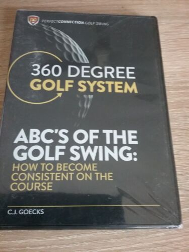 360 degree gof system ABC'S OF THE GOLF SWING  ( brand new sealded in pack)