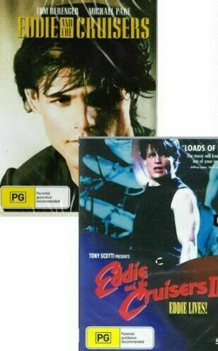 Eddie and the Cruisers 1 & 2 - New Region All DVD