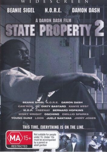 State Property 2  ( Beanie Sigel ) - New Region All DVD