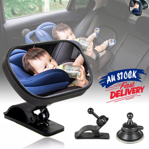 Inside Seat Child Car View Back Rearward Safety Mirror Facing Baby