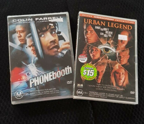 Urban Legend DVD and PHONEbooth DVD Both New and Sealed Bargain