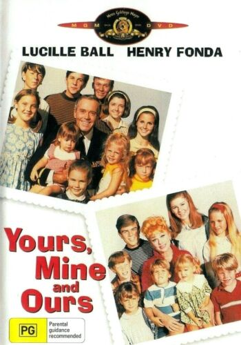 Yours, Mine and Ours -  Lucille Ball New and Sealed  DVD