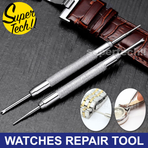 Wrist Watch Band Repair Tool Kit Spring Bar Pins Link Remover Tools Watchmakers