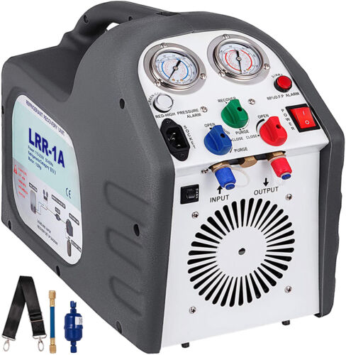 Refrigerant Recovery Machine Reclaim Unit R410a Oil Free Residential Service