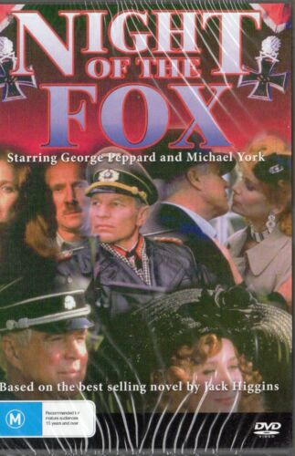 NIGHT OF THE FOX - Michael York - DVD - NEW and SEALED - Never played - R All