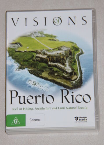 DVD - Visions of Puerto Rico - rich in history, architecture and lush beauty