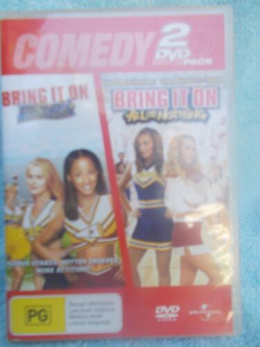 BRING IT ON AGAIN//BRING IT ON ALL OR NOTHING(2 DVD BOXSET) DVD PG R4