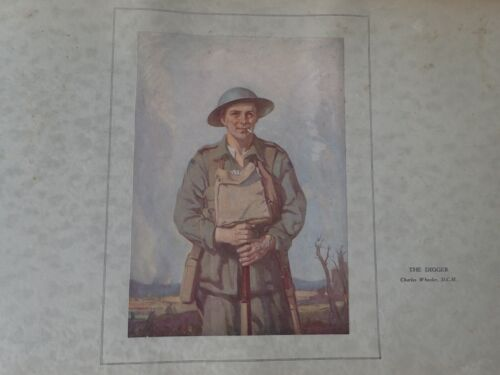 The Digger by Charles Wheeler (N50)1914 - 1918 (WWI) - 13962