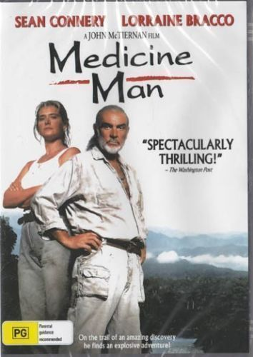 Medicine Man - Sean Connery  New and Sealed DVD