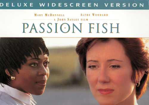 PASSION FISH-Mary McDonnell-2 x LASER DISC set-NEW-NEVER PLAYED!-VERY RARE!!!!