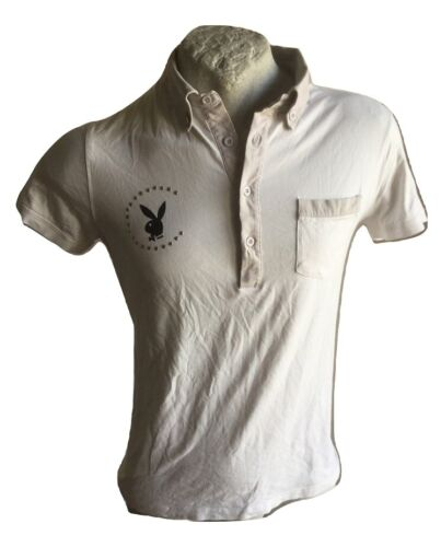PLAYBOY T-SHIRT TRIKOT POLO SIZE L WOMAN