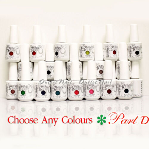 GELISH HARMONY - PART D Soak Off Gel Nail Polish Set UV Nail - Pick ANY Color
