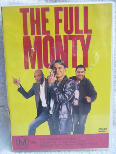 THE FULL MONTY ROBERT CARLYLE TOM WILKINSON M R4