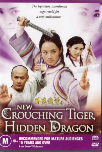 NEW CROUCHING TIGER, HIDDEN DRAGON- 2 x DVD -NEW and SEALED-Never played - R ALL