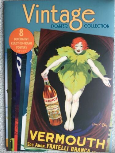 """Vintage Rare Advertising Poster Collection x8 Decorative Posters 12"""" x 16"""""""