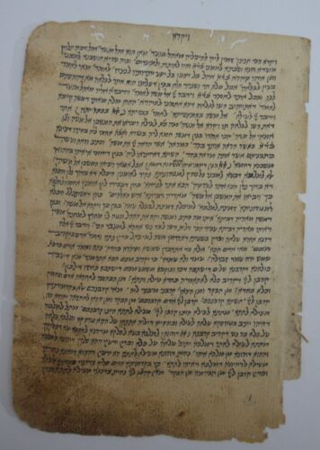18th 19th CENTURY HEBREW MANUSCRIPT Kabbalah Chasidut interesting Jewish Judaica
