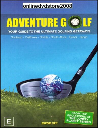 ADVENTURE GOLF - Your Guide to Ultimate Golfing Getaways (2 DVD SET) NEW SEALED
