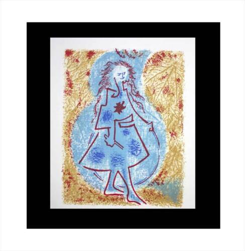 Andre MASSON Lithograph LIMITED Ed 55/100 ARCHES +Cat. Ref. C97 +Custom FRAMING