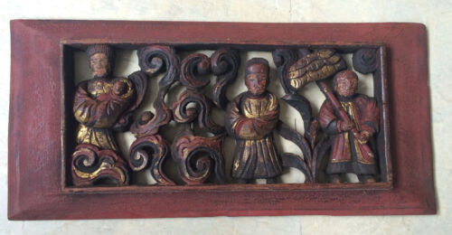 Rare Antique Chinese Wood Panel Collectible!!! One of a kind!!!