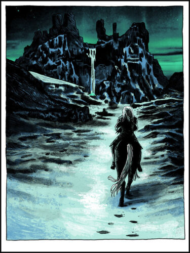 """TIM DOYLE """"Gift For The Night's King"""" 18x24 Signed Print (Game Of Thrones)"""