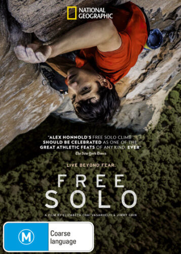 Free Solo (National Geographic)  - DVD - NEW Region 4