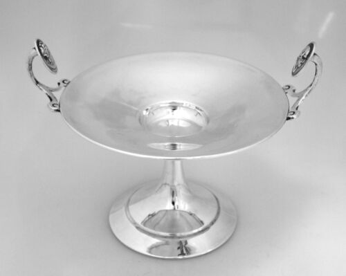 Medallion Coin Silver Compote Gorham 1865