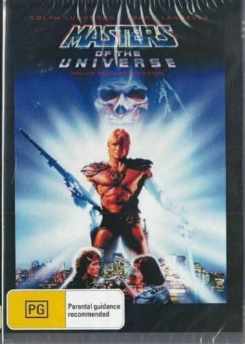 Masters of the Universe ( Dolph Lundgren ) - New Region All ( PAL )