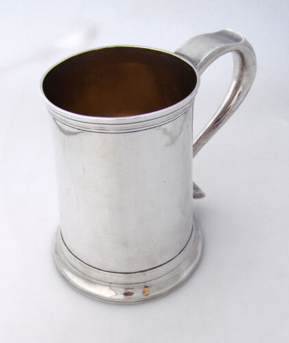 Newcastle Tankard Langlands Robertson 1780 Sterling Silver