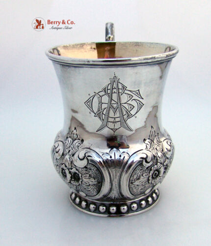 Fancy Baby Cup Sterling Silver 1860 Ball Black And Co NY
