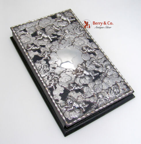 Swarm of Cupids Address Book Sterling Silver Louis Vuitton
