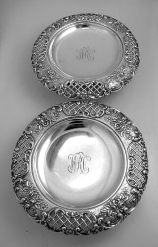 Tiffany and Co. Silverplated Serving Dishes New York 1885