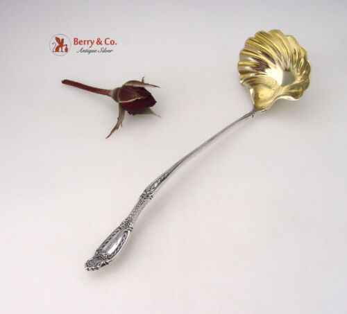 Richelieu Sauce Ladle Tiffany Sterling Silver 1892 Monogram MH