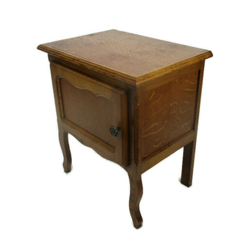 Louis XVI style Bedside End Side Table Hallway  Cabinet Nightstand Wood