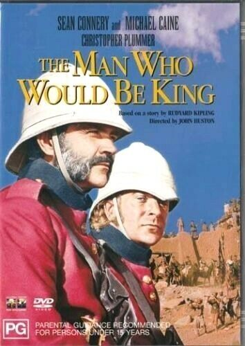 The Man Who Would Be King ( Sean Connery ) - New Region All PAL DVD