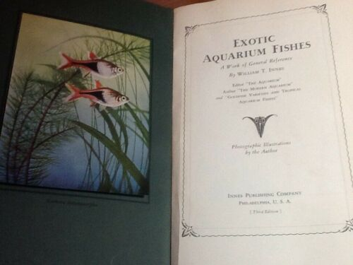 1938 EXOTIC AQUARIUM FISHES