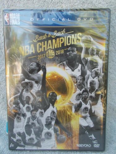 BACK TO BACK 2017-2018 NBA CHAMPIONS (NBA OFFICIAL DVD)E R4 SEALED