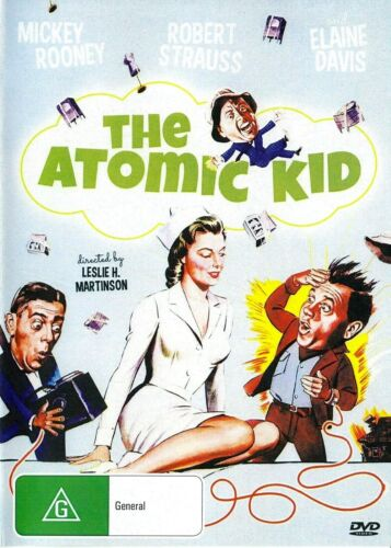 The Atomic Kid - Mickey Rooney  New and Sealed  DVD