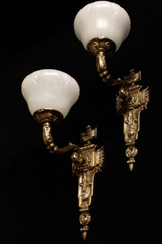 High Quality Alabaster Wall Sconces Antique style